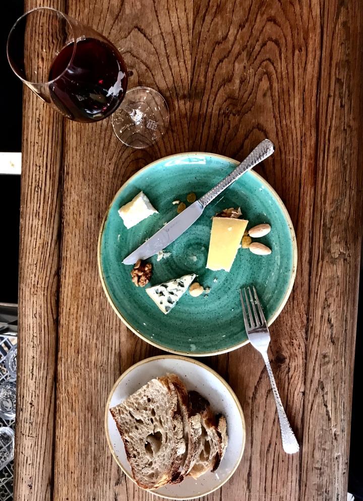 cheese board in paris